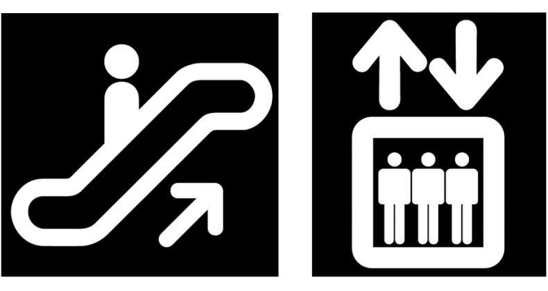 السلالم المتحركة والمصاعد..  أيُّهما أكثر حفاظًا على الطاقة والبيئة؟