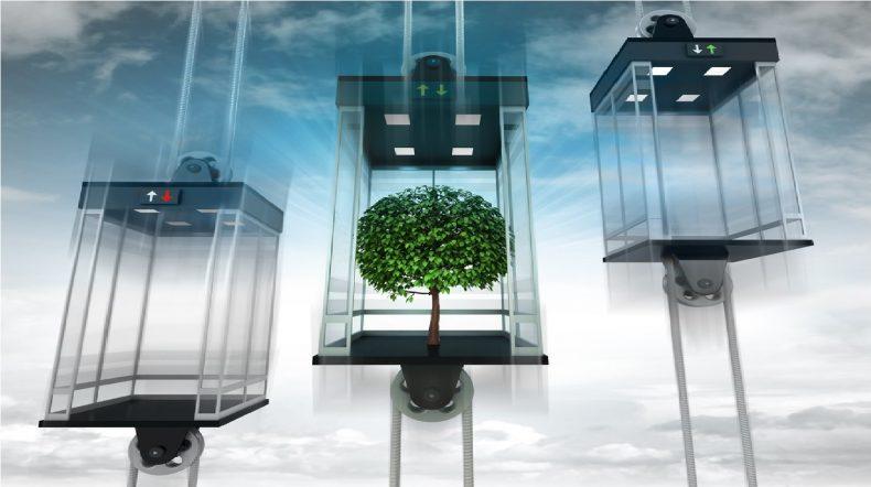 تقنيات المصاعد التي تستهلك الطاقة بكفاءة
